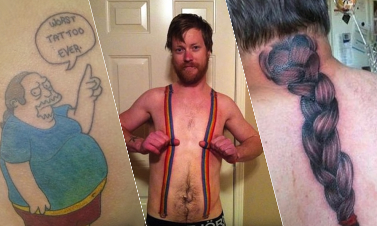Unique Tattoos You Would Never Want To Have Omg Funny